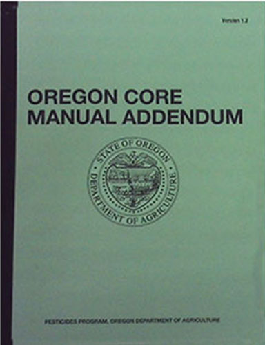 ODA OR CORE MANUAL ADDENDUM