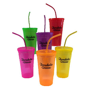 CCC/NEON WATER TUMBLERS