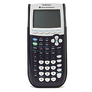 TI-84+ GRAPHING CALCULATOR