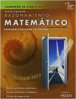 Cover Image For PAXEN GED SPANISH MATEMATICO  CUADERNO DE EJERCICIOS