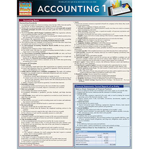 Image For BARCHARTS ACCOUNTING 1
