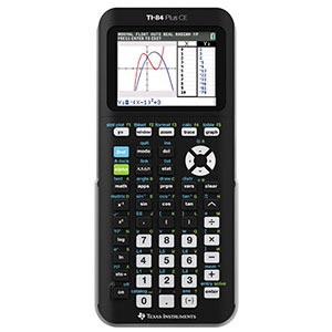 Cover Image For CALC,TI-84+CEBLACK