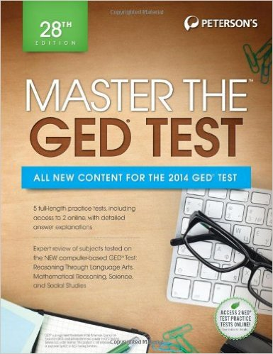 Image For MASTER THE GED TEST - PETERSON'S
