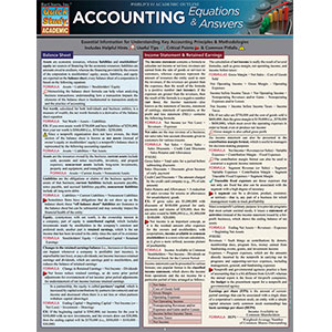 Image For BARCHARTS ACCOUNTING EQUATIONS