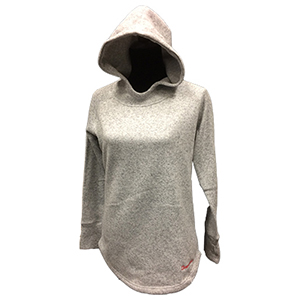 Cover Image For W-LONG FLEECE HOODIE