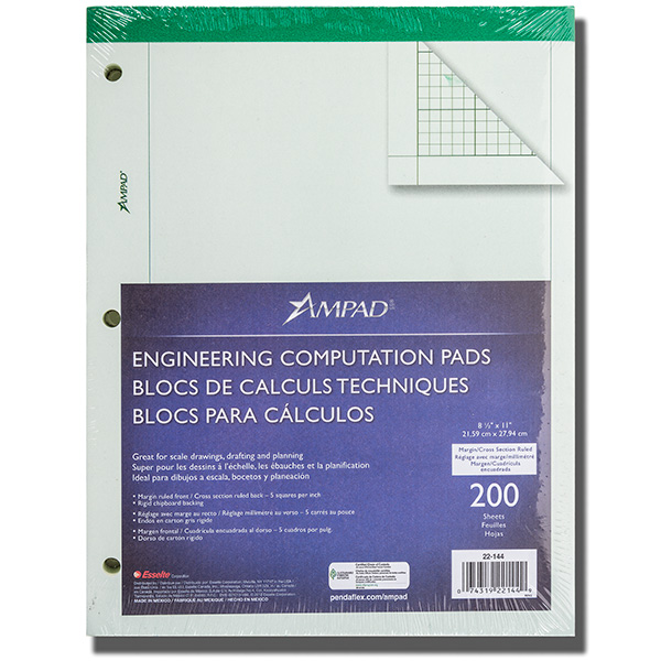 Cover Image For ENGINEERING PAD 200 CT