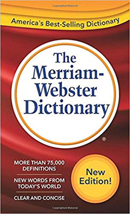 Cover Image For MERRIAM-WEBSTER DICTIONARY