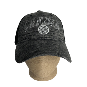 Image For BLK HEATHER BASEBALL HAT