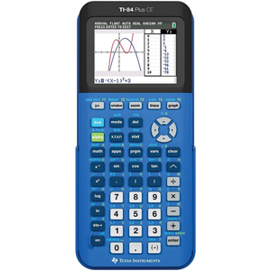 Cover Image For CALC,TI-84+CE BLUE