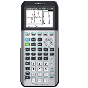 Cover Image For CALC,TI-84+CE SPACE GRAY
