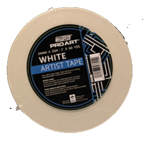 "Cover Image For 1"" WHITE ARTISTS TAPE"