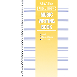 Image For ALFRED SPIRAL BOUND MUSIC