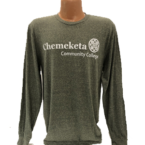 Image For MEN'S TRI-BLEND LONG SLEEVED CREW