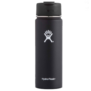Cover Image For 20OZ HYDRO FLASK BLACK
