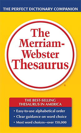 Image For MERRIAM  WEBSTER THESAURUS - MASS MARKET
