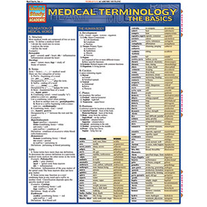 Image For MEDICAL TERMINOLOGY THE BASICS